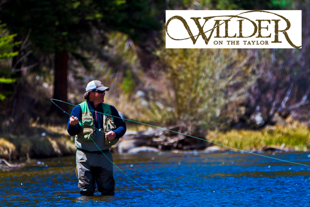 Brad Willett Fishing at Wilder on the Taylor