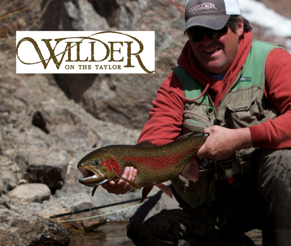 Fly-Fishing Wilder on the Taylor photo