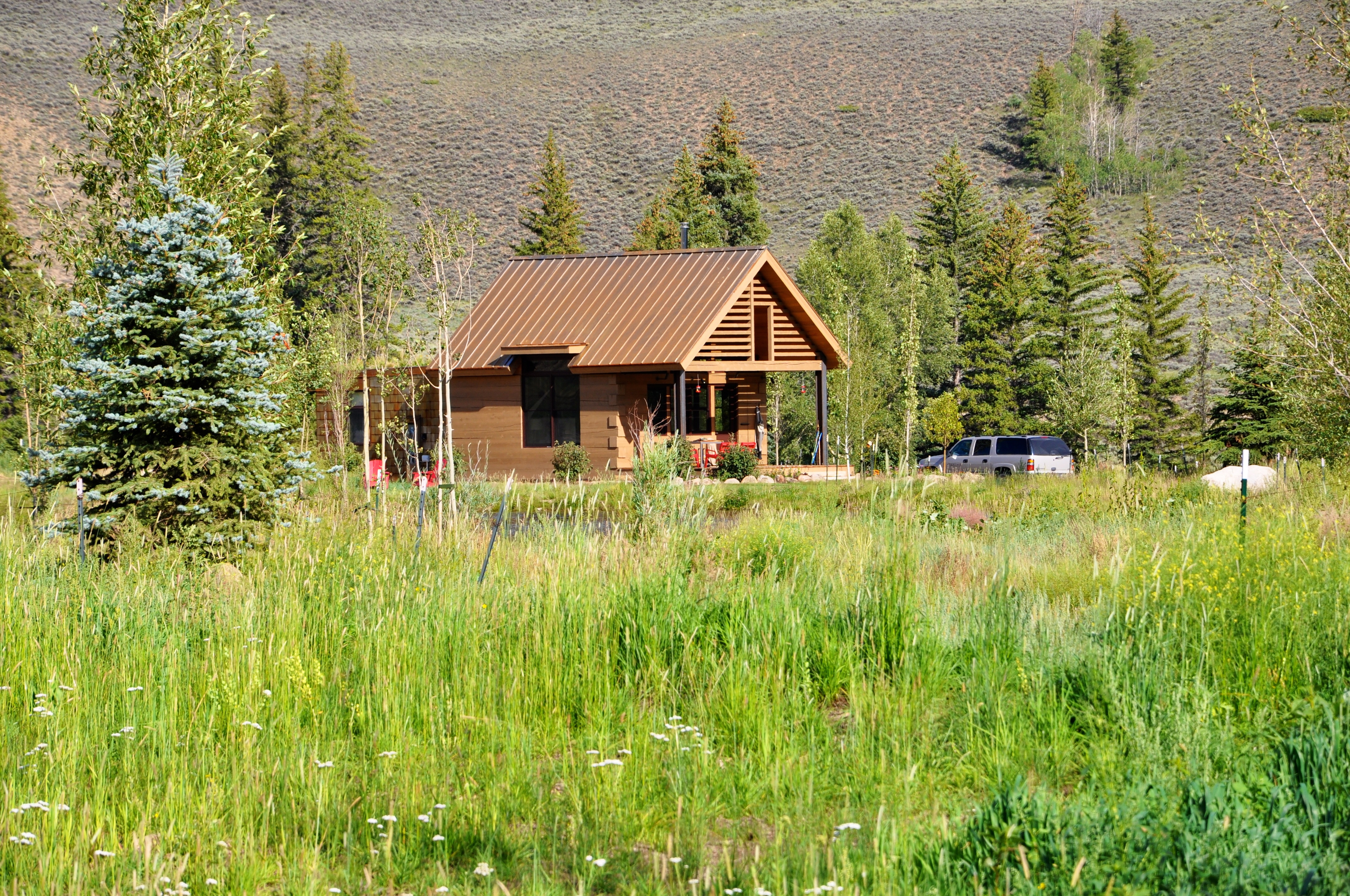 New owners mountain homes and cabins completed for Mountain cabin homes