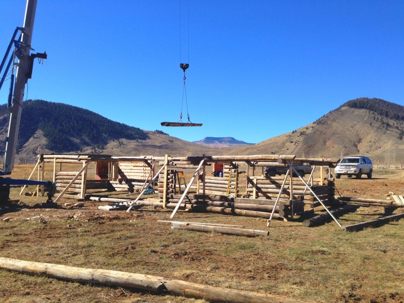 gandy cabin reconstruction