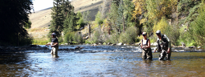 Fly Fishing in Gunnison Valley