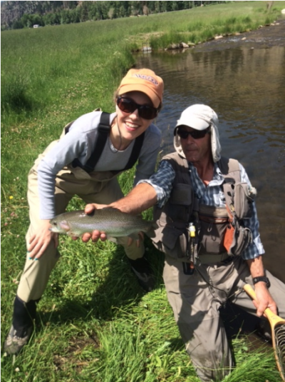CO Woman Fly Fishing