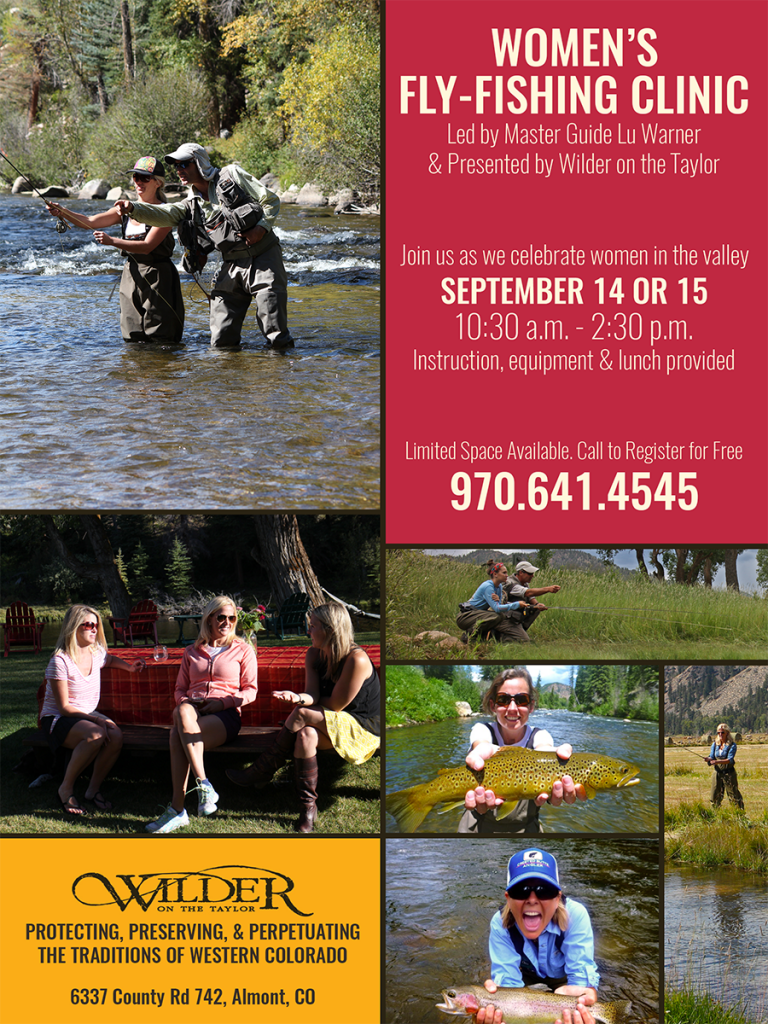 Women fly fishing clinic