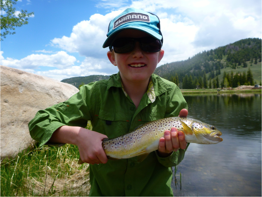 taylor river fishing report