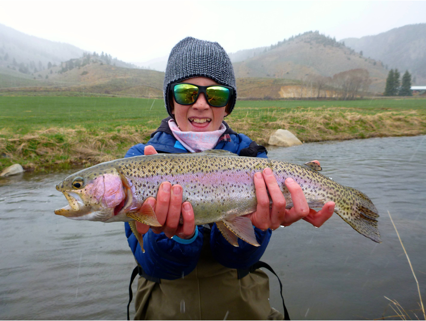 Taylor river fishing report by master guide lu warner for Colorado river fishing report