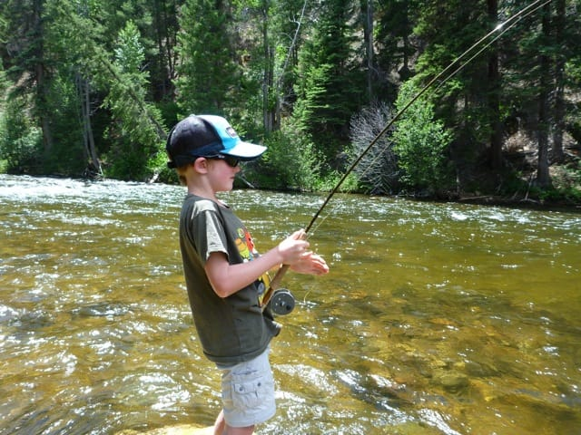 kid private fly-fishing