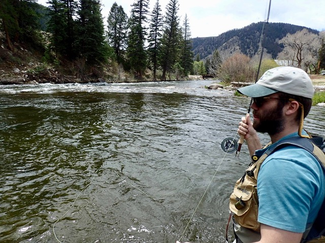 Taylor River Fly Fishing Report May 2018 2