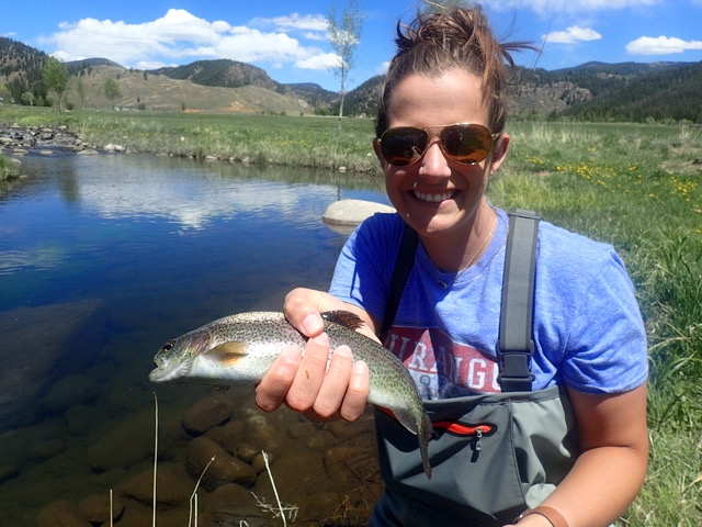 Summer Fly Fishing at Wilder