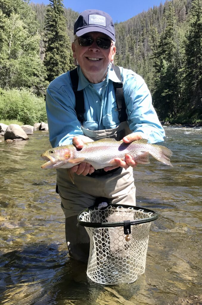 Taylor River Fly Fishing Report June 2020- Rainbow Trout Caught at Wilder