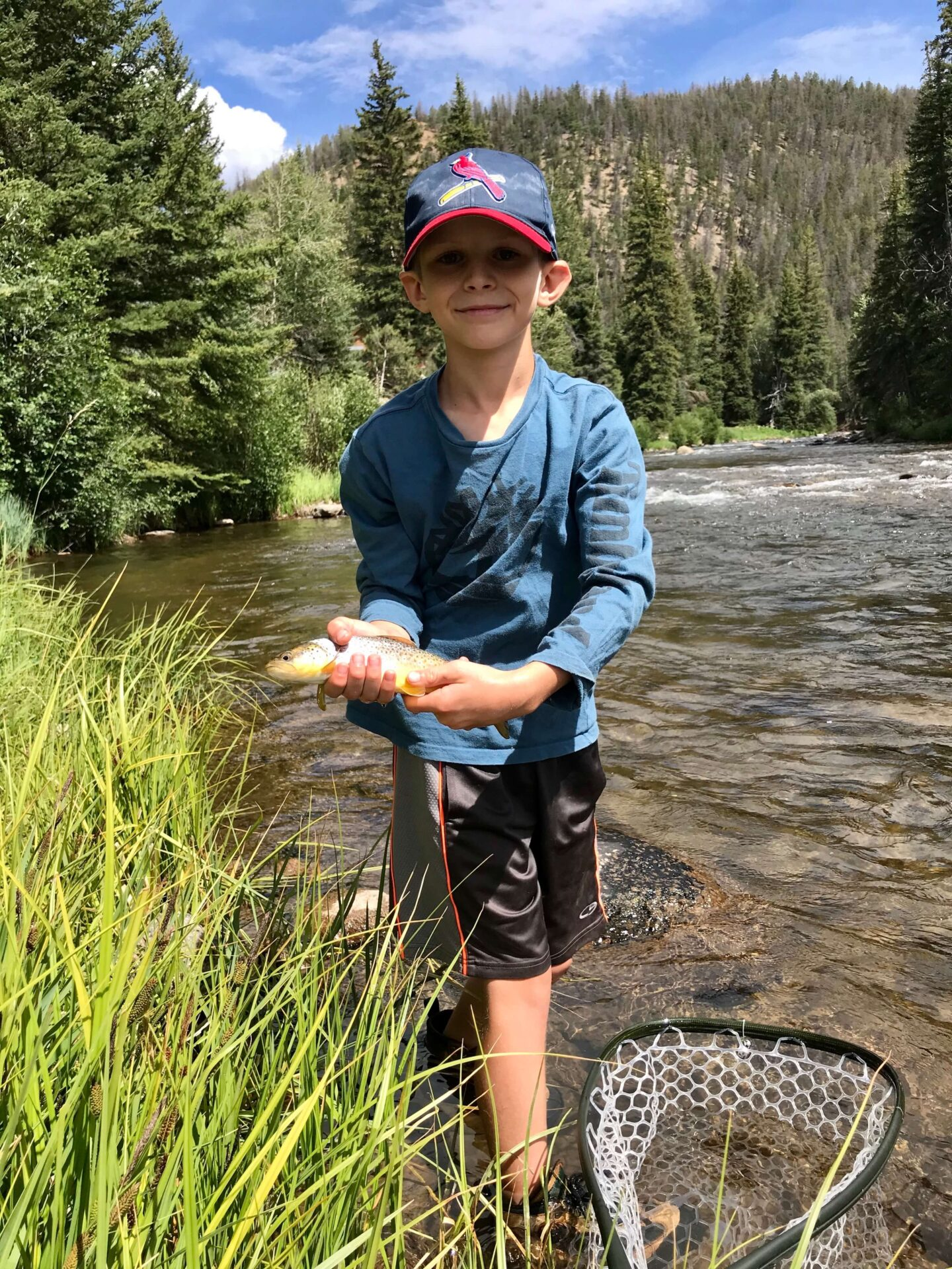 Wilder on the Taylor Fishing