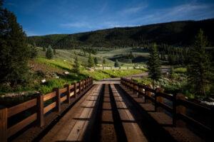 Mountain Land- Wilder on the Taylor Bridge