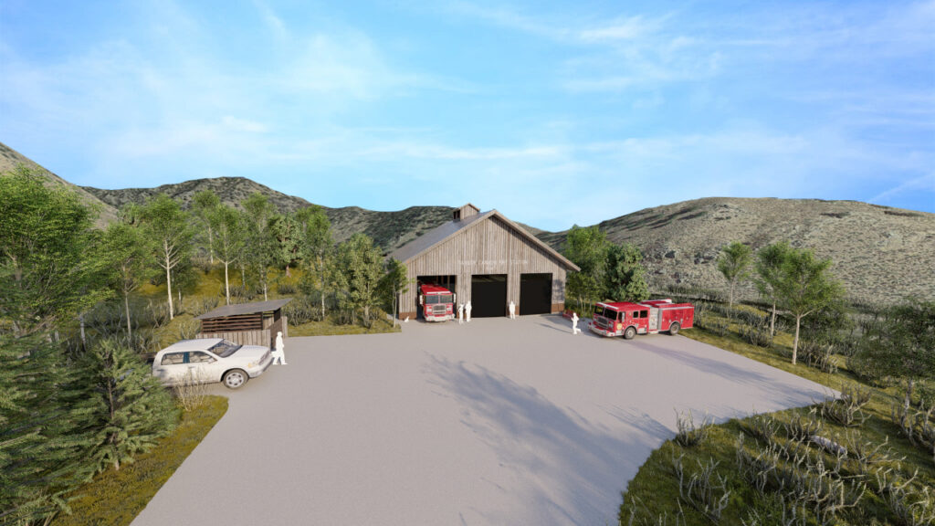 Taylor Canyon Fire Station