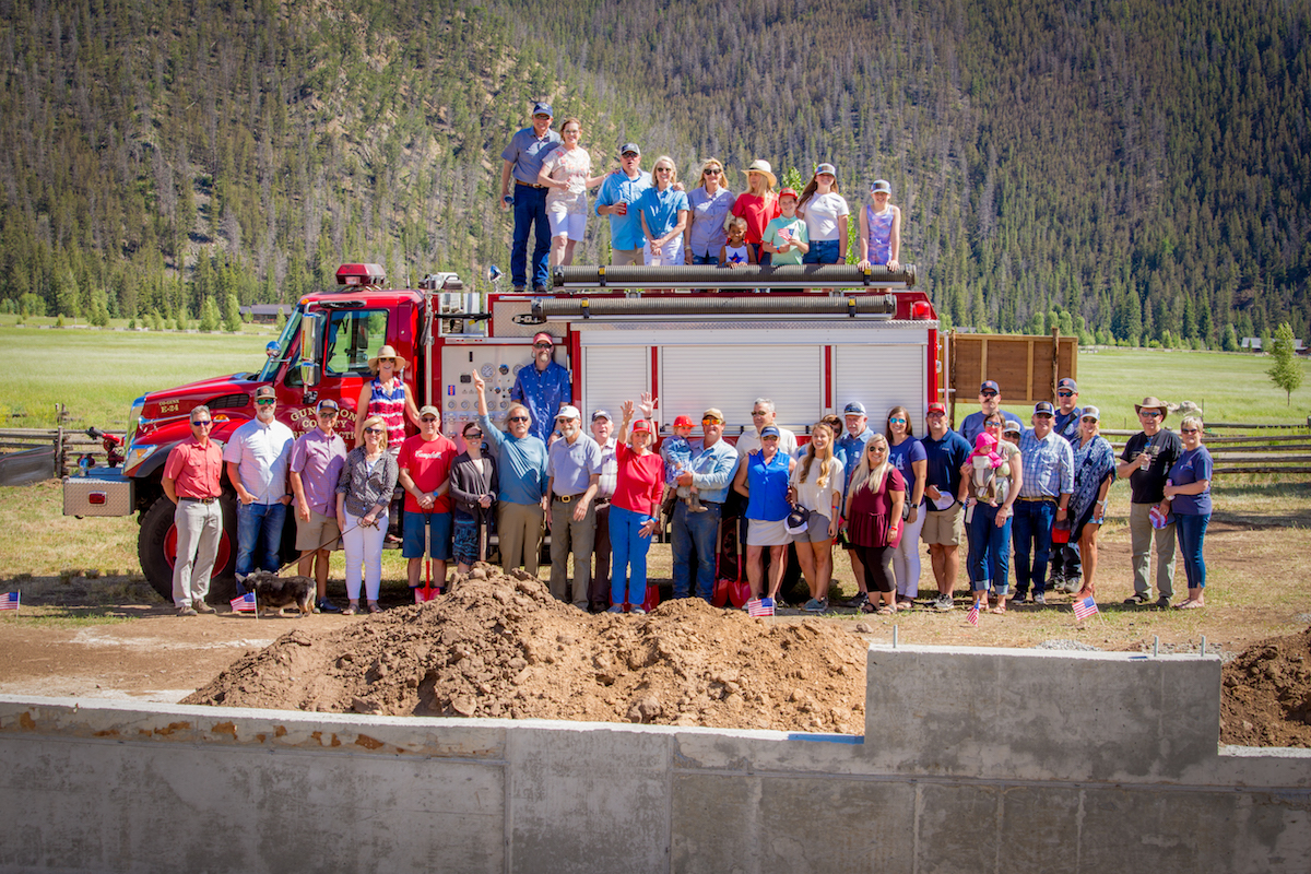 Taylor Canyon Fire Station Ground Breaking